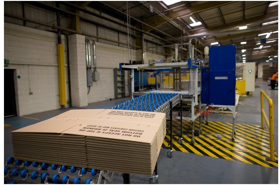 Carton recycling line